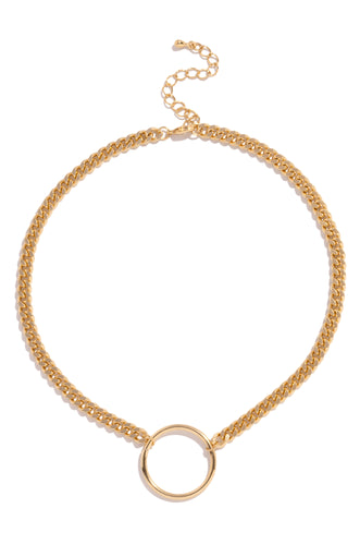 Janeil Necklace - Gold