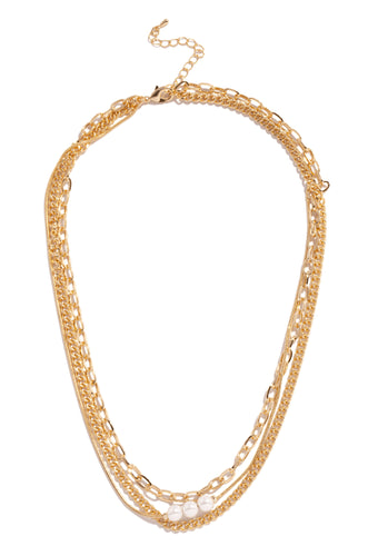 Aina Necklace - Gold