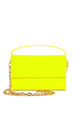 Making Deposits Bag - Neon Yellow