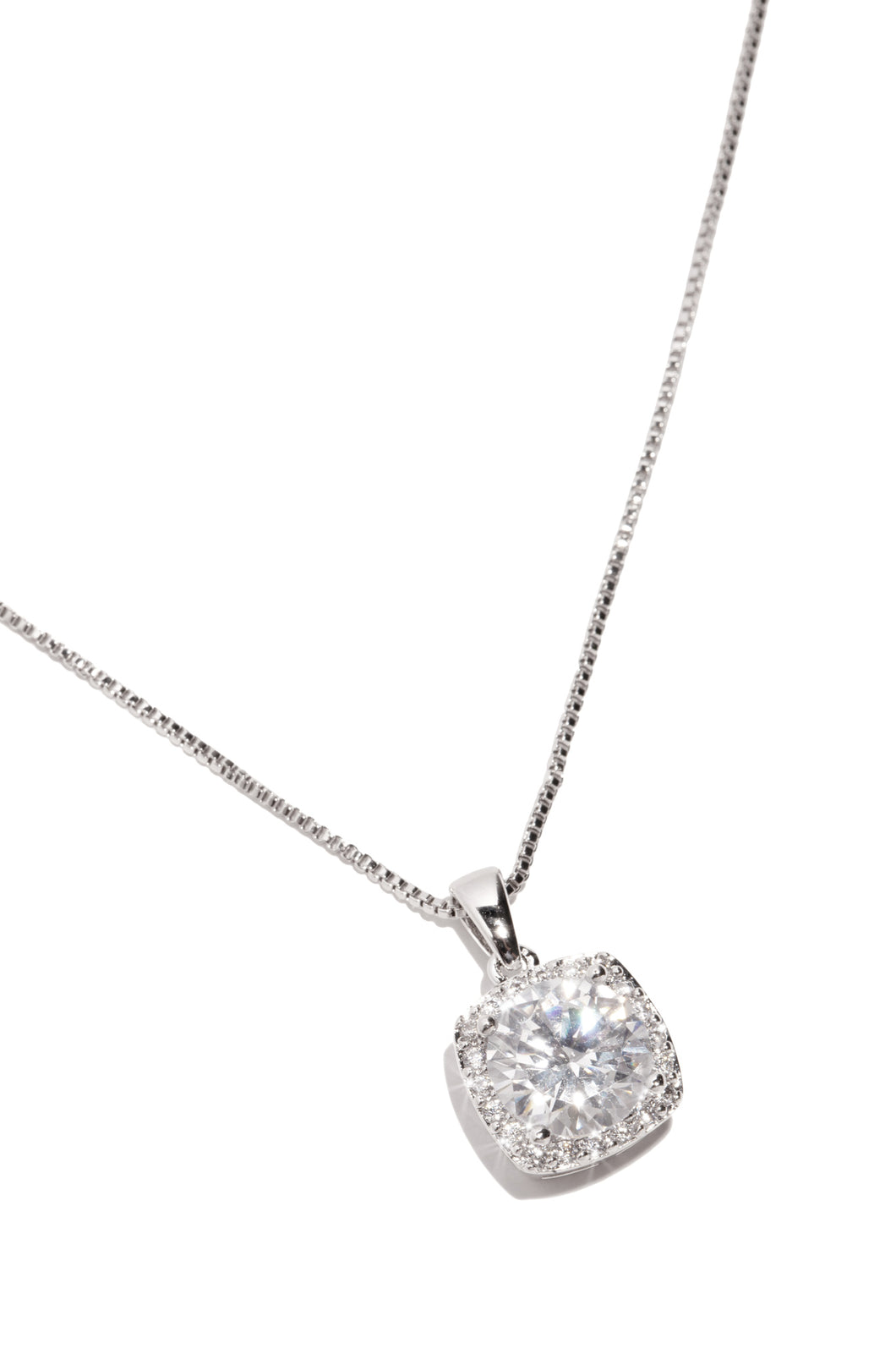Adore Necklace - Silver
