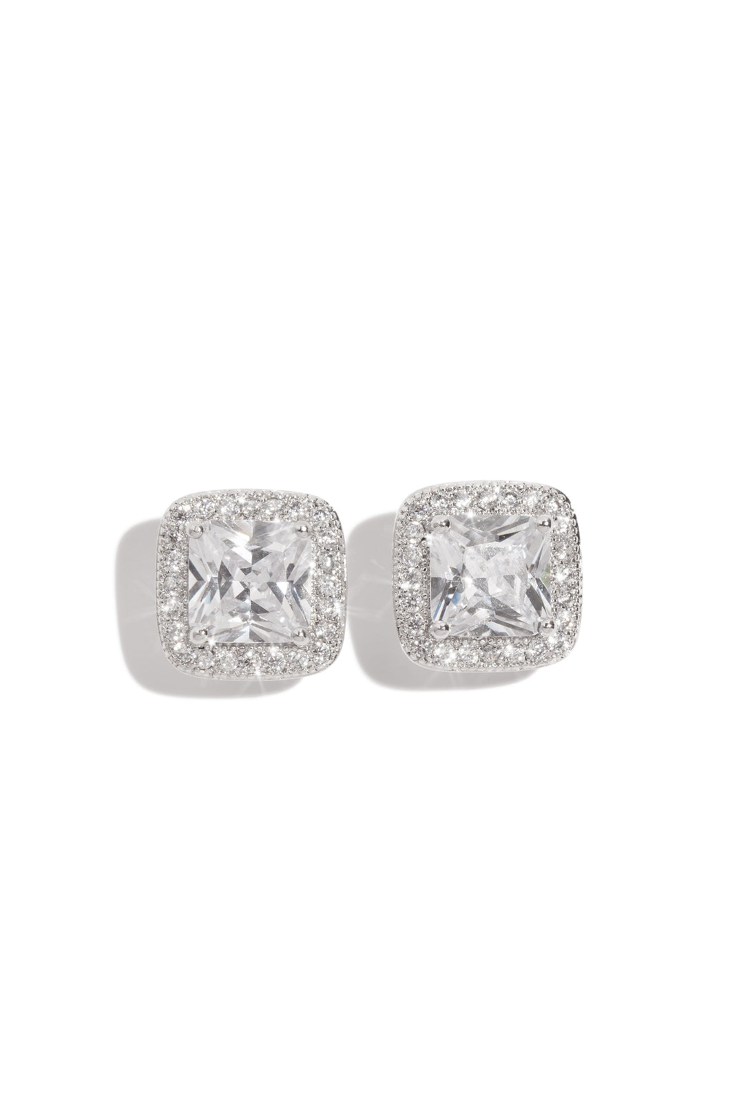 Diamante Earring - Silver