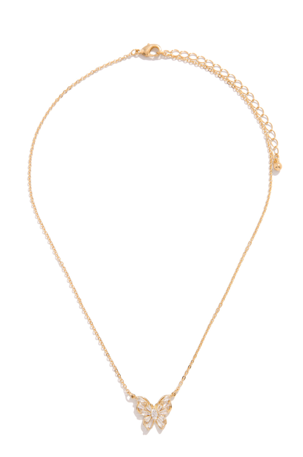 Born Beautiful Necklace - Gold