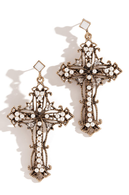 Faith In Me Earring - Gold