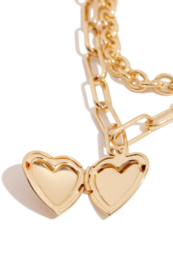 Higher Love Necklace - Gold