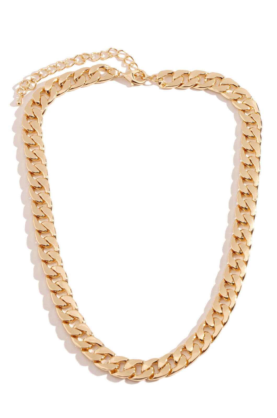 Link Up Necklace - Gold