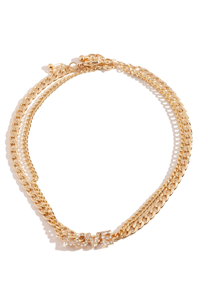 Ready For Love Necklace - Gold