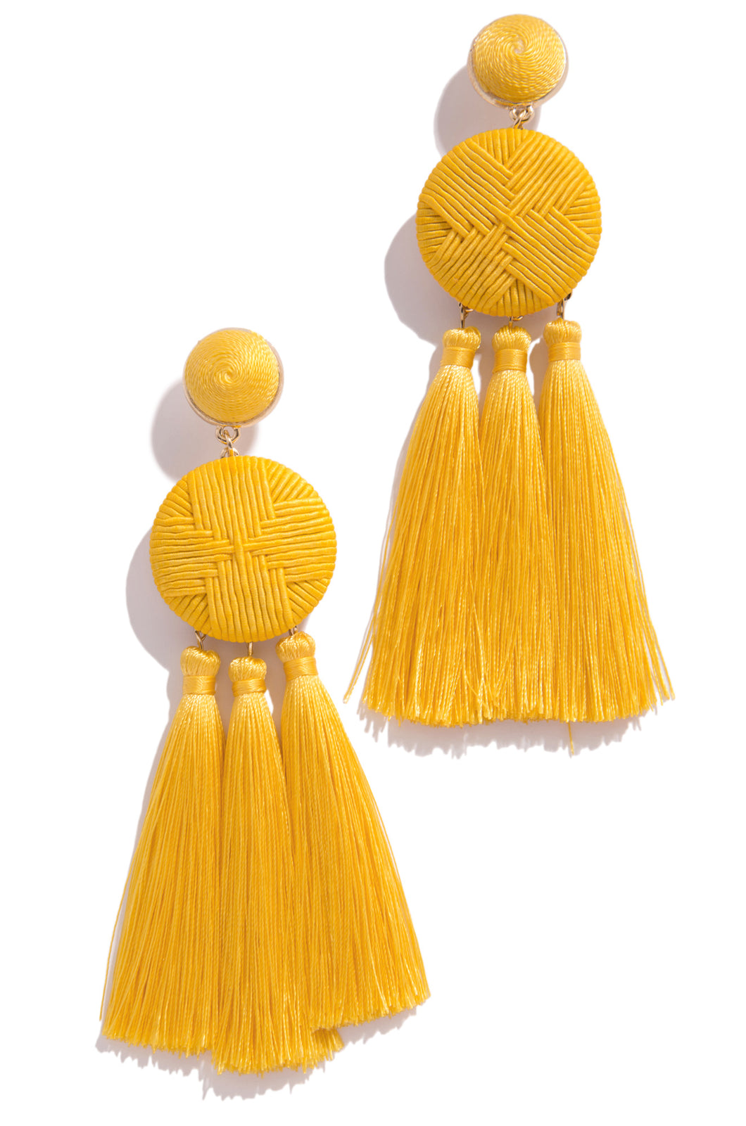 Miami Cocktail Earring - Yellow