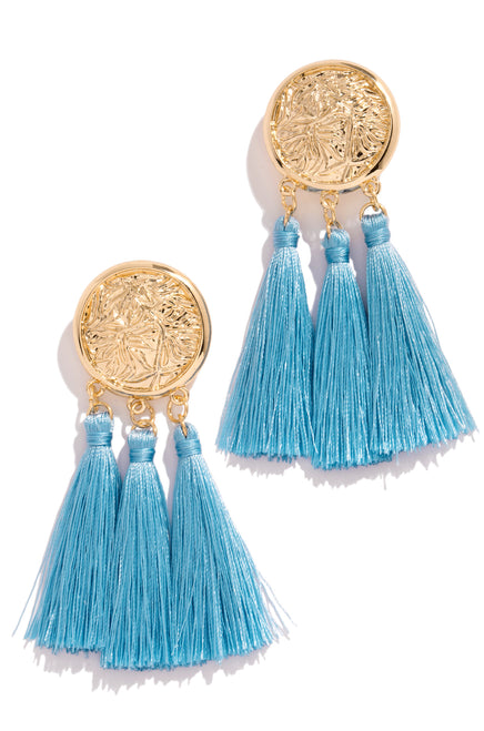 Chase The Sun Earring - Blue
