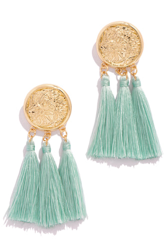 Chase The Sun Earring - Mint