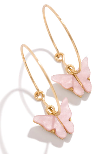 Flutter Dream Earring - Gold