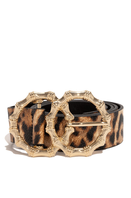 Seducing Skin Belt - Leopard