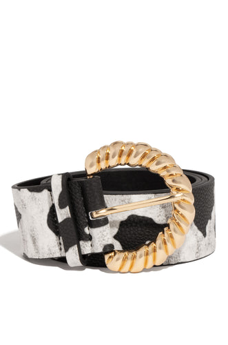 Second Skin Belt - Black/White