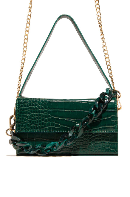 Heart of Paris Bag - Emerald