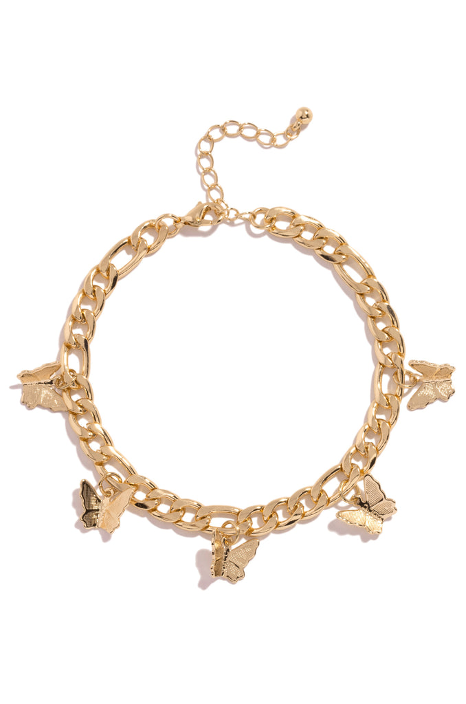 Be Unforgettable Anklet - Gold