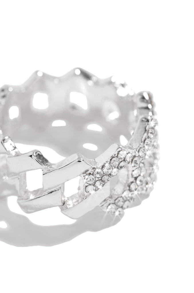 Baby Ice Ring - Silver