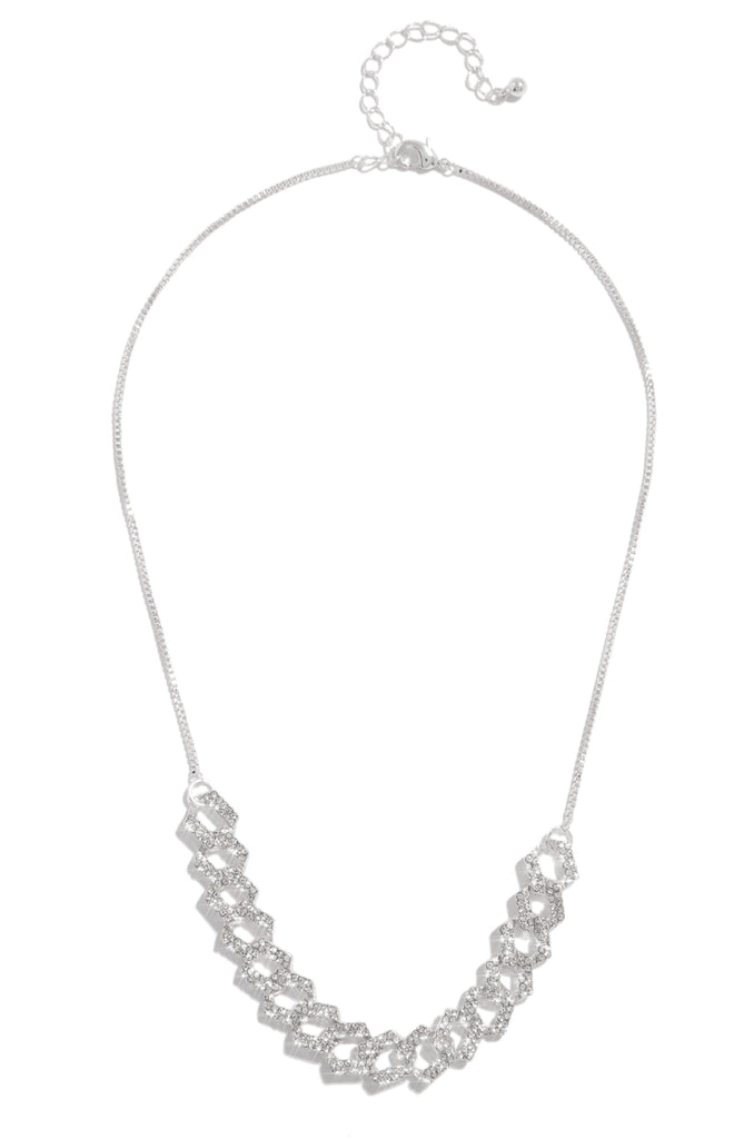 Baby Ice Necklace - Silver