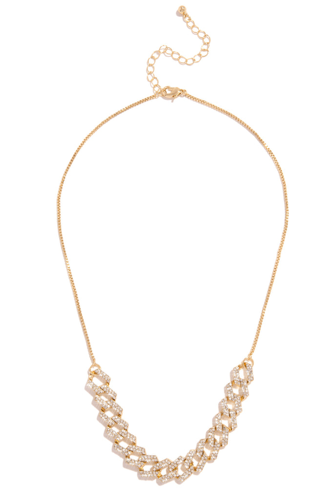 Baby Ice Necklace - Gold