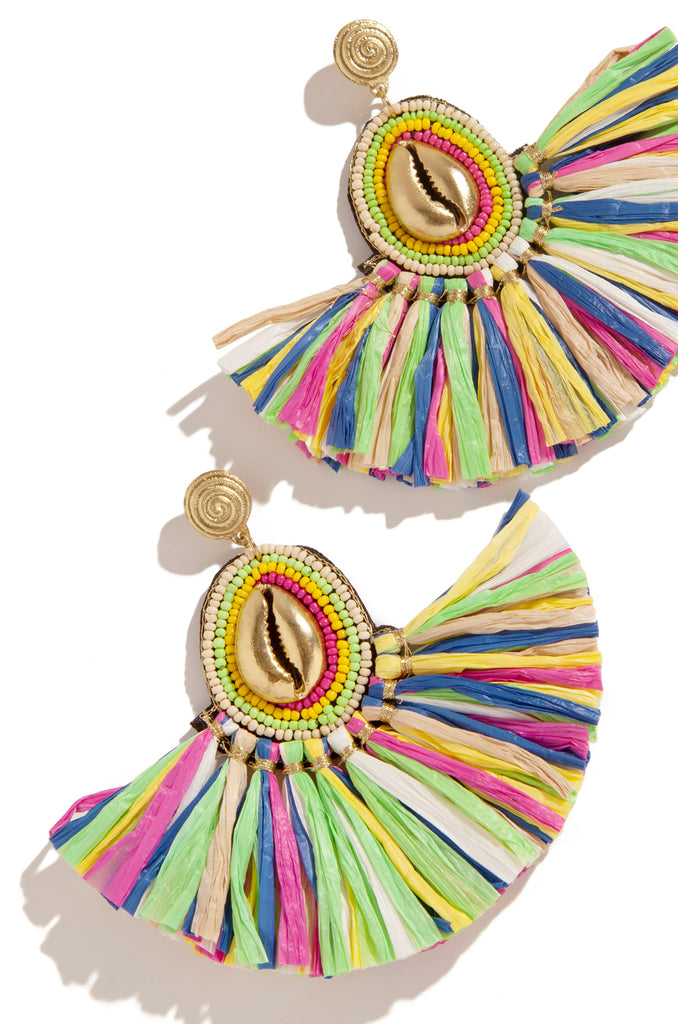 Exotica Earring - Gold Multi