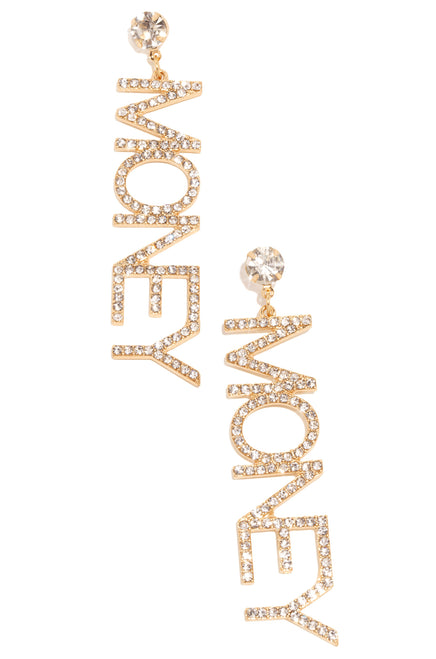 Money Maker Earring - Gold