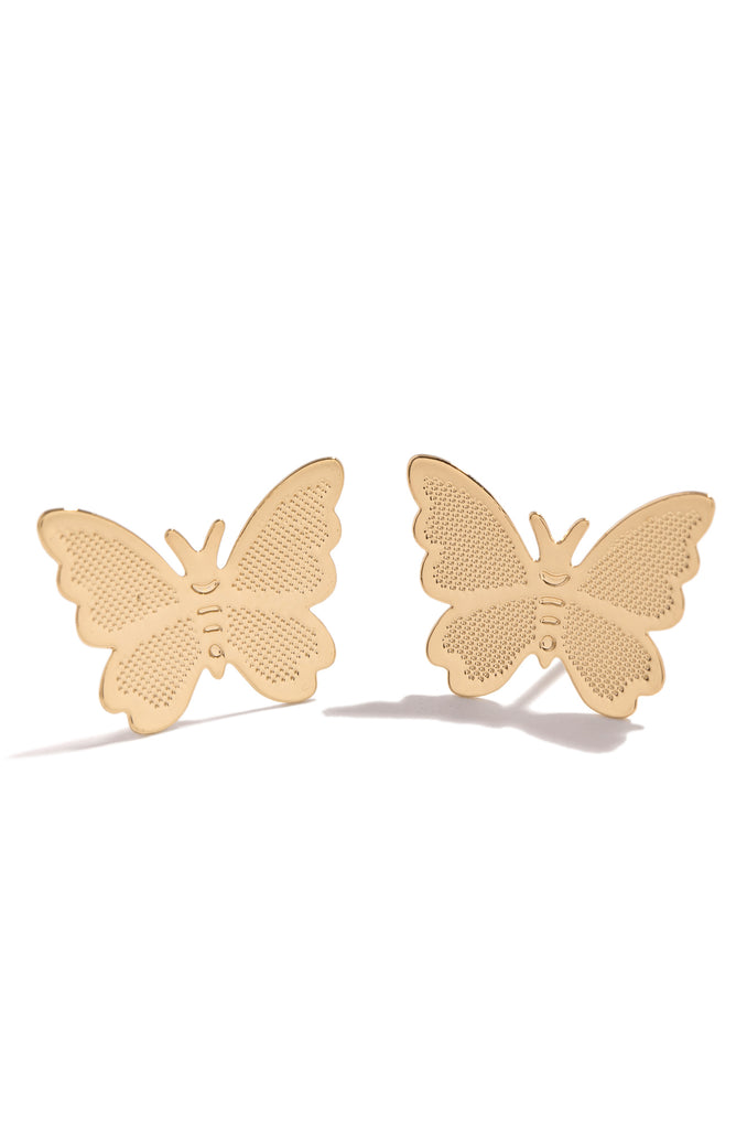 Fly High Earring - Gold