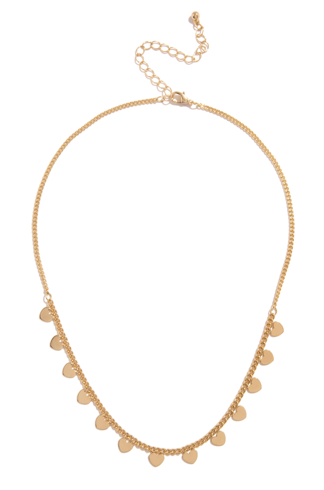Love Me Right Necklace - Gold