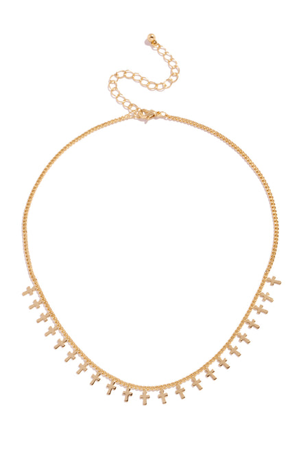 Nellie Necklace - Gold