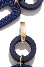 Willow Earring - Navy