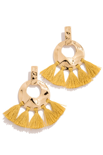 Caribbean Nights Earring - Gold