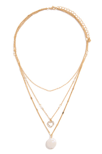 About Love Necklace - Gold