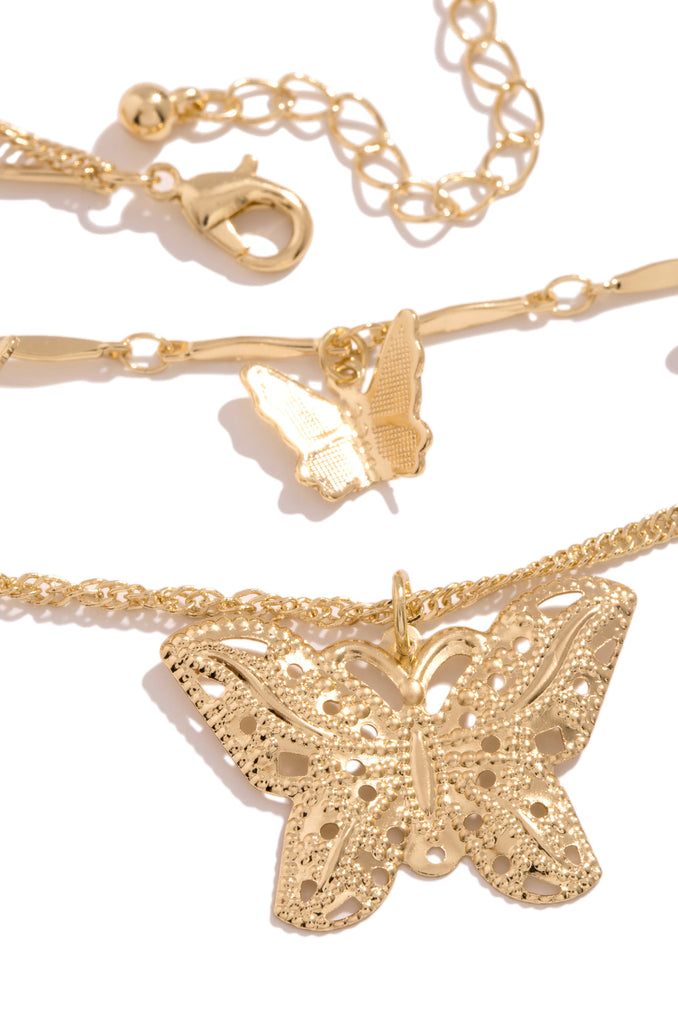In The Sky Necklace - Gold