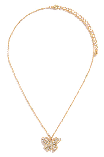 So Fly Necklace - Gold