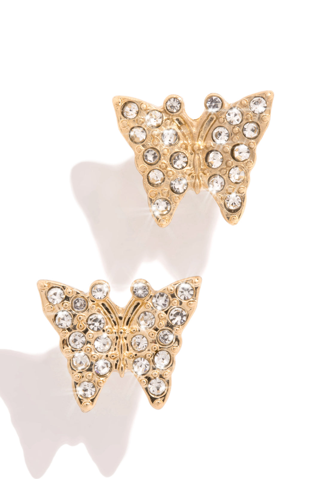Pretty In Diamonds Earring - Gold