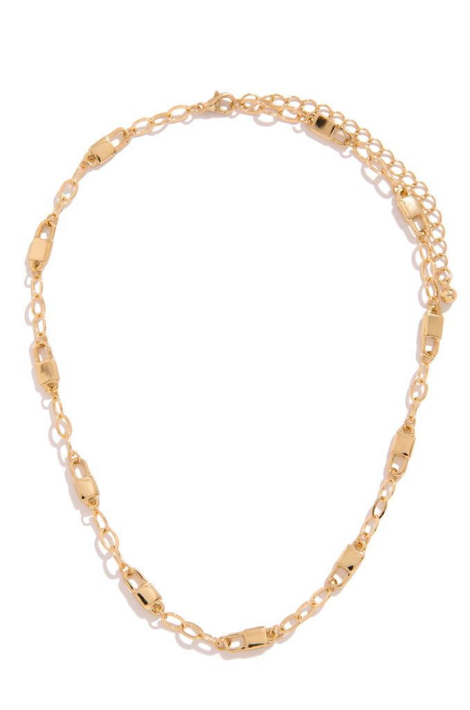 Catching Feelings Necklace - Gold