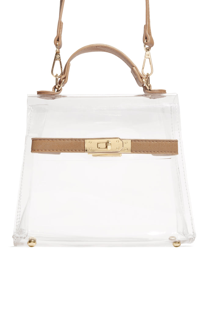 Pretty Please Bag - Nude