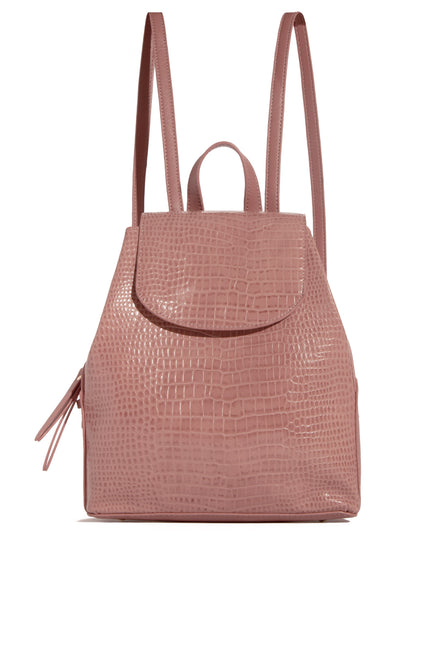 Carried On Backpack - Mauve
