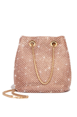 Parisian Lights Mini Bucket Bag - Rose Gold
