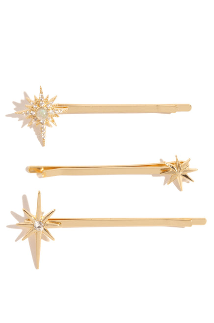 Aries Hair Pins - Gold