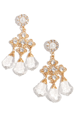 Divine Luxury Earring - Gold