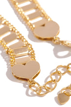 Dare To Love Anklet - Gold