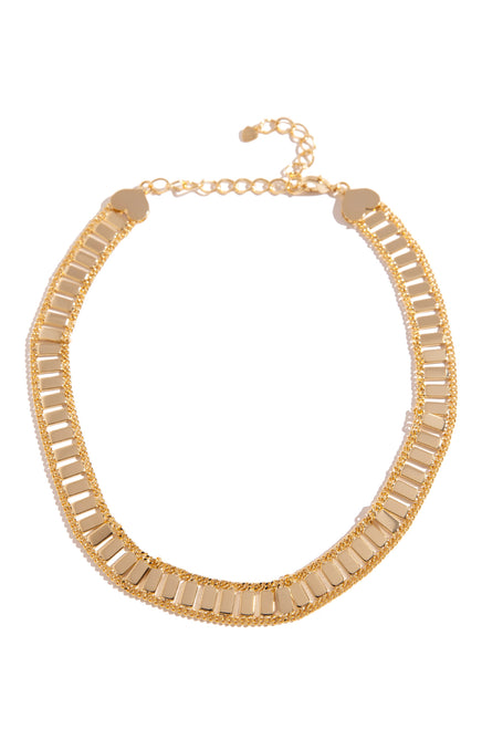 Dare To Love Necklace - Gold