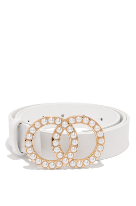 Juliana Belt - White