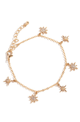 Make A Wish Bracelet - Gold