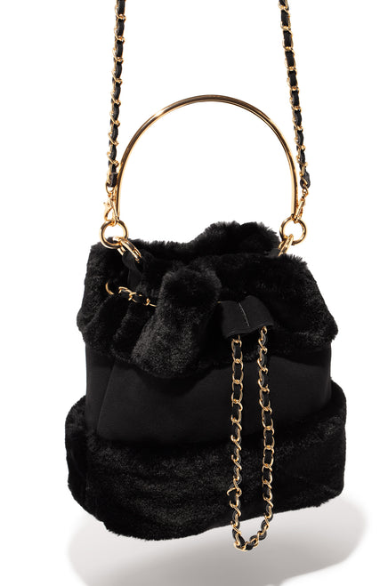 A Touch Of Luxury Bag - Black