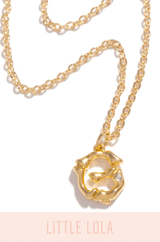 Mini G Necklace - Gold