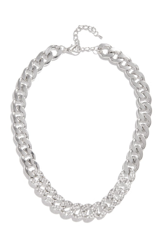 Feeling Extra Necklace - Silver