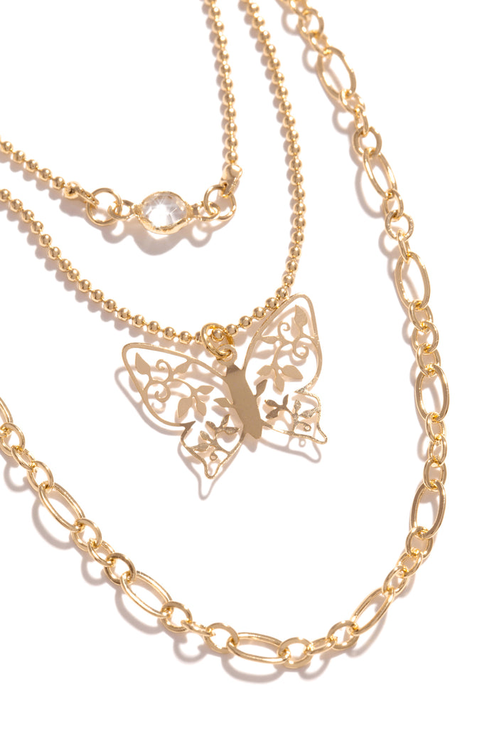 Sweet Haven Necklace - Gold
