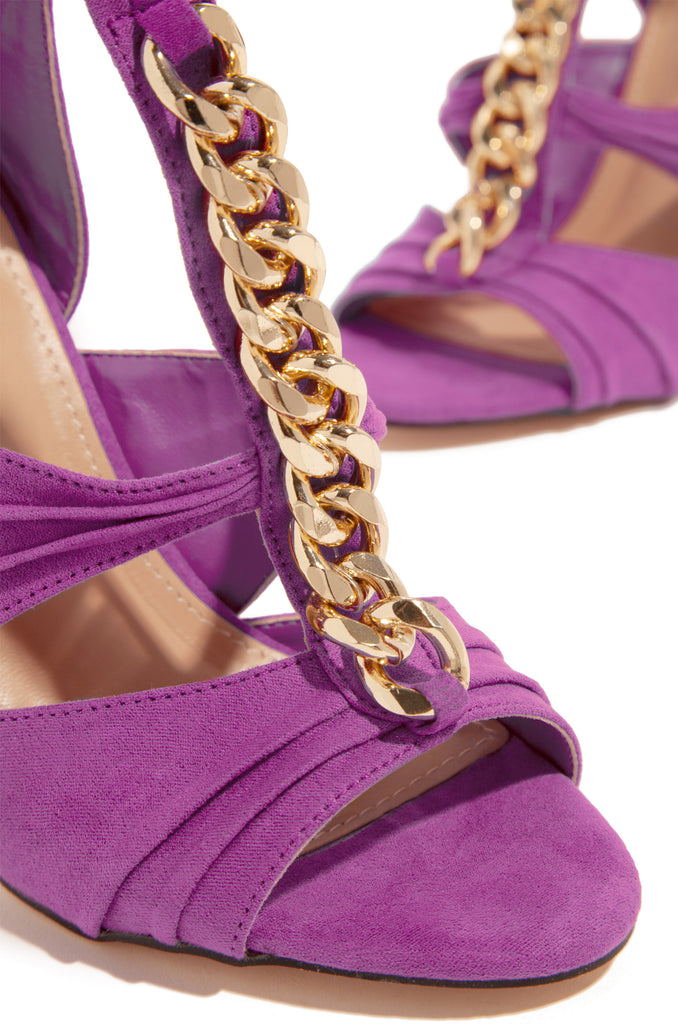 Gold Luxe - Purple