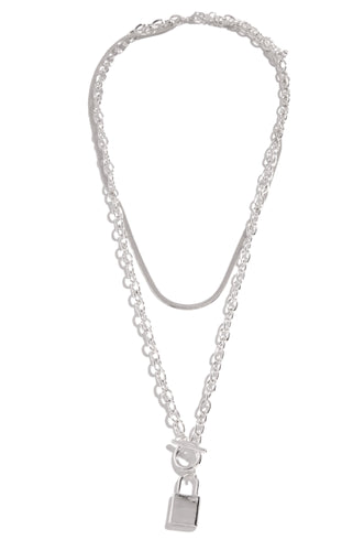 Her Moment Necklace - Silver
