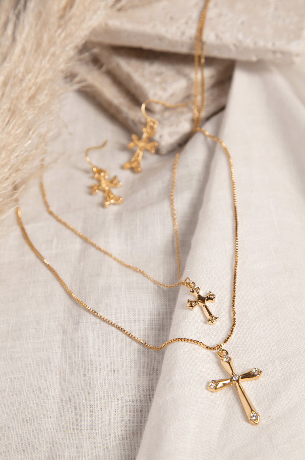 Ciana Necklace - Gold