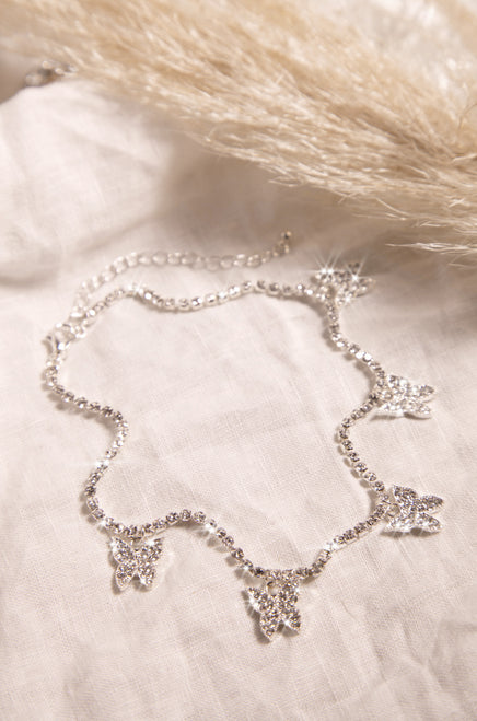 Bling Queen Necklace - Silver